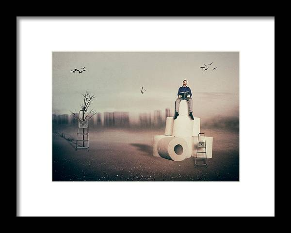 Man Framed Print featuring the photograph El Rey De La Monta�a by Juan Carlos Ure