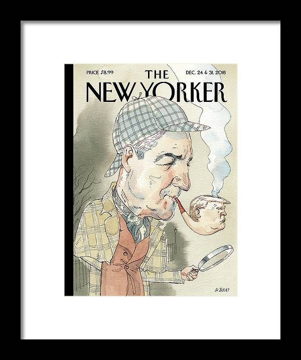 Elementary Framed Print featuring the painting Elementary by Barry Blitt
