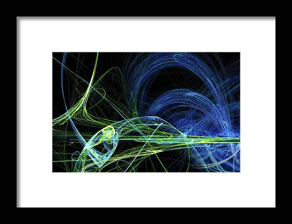 Curve Framed Print featuring the photograph Energy by Duncan1890