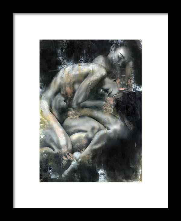 Figurative Framed Print featuring the painting Equinox by Patricia Ariel