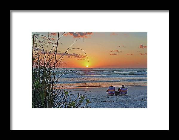 Beach Framed Print featuring the photograph Eventide by HH Photography of Florida