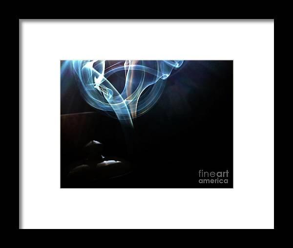 Sage Framed Print featuring the photograph Eye by Atousa Raissyan