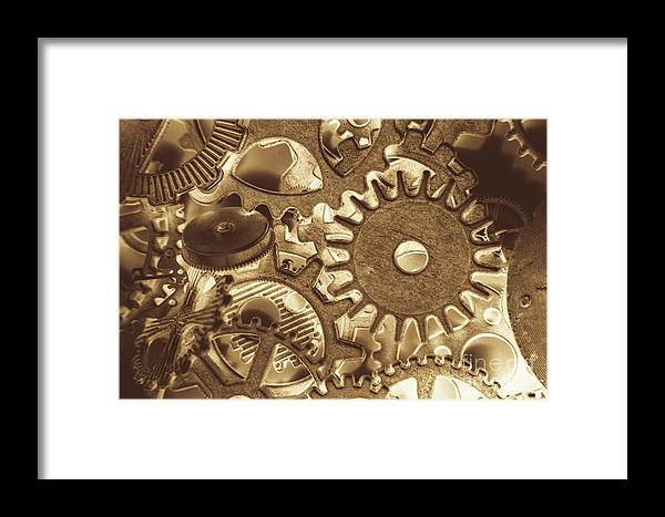 Metal Framed Print featuring the photograph Factory Settings by Jorgo Photography - Wall Art Gallery