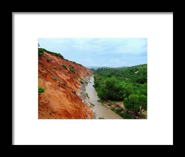 Tranquility Framed Print featuring the photograph Fairy Springs In Mui Ne by Thomas Davis