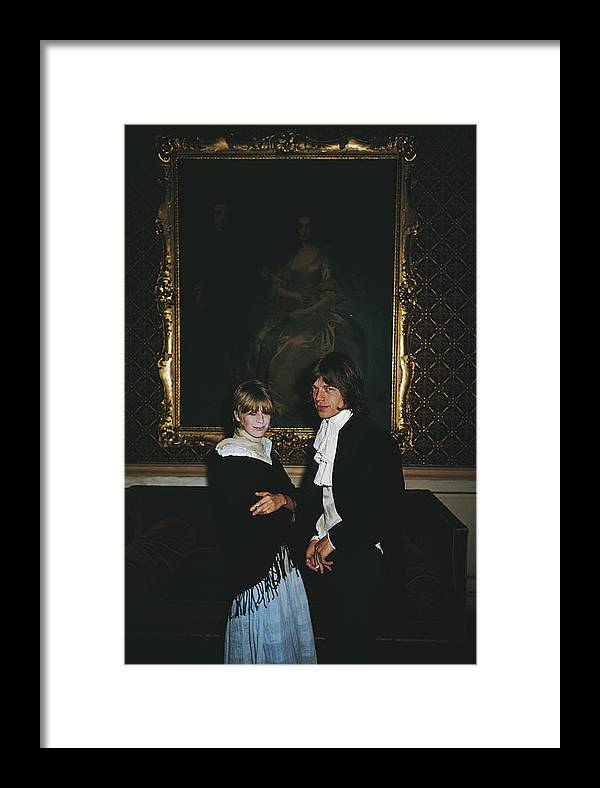 Rock Music Framed Print featuring the photograph Faithful Couple by Slim Aarons