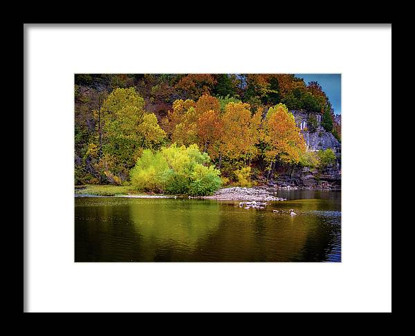 Fall Framed Print featuring the photograph Fall Colors Of The Ozarks by Allin Sorenson