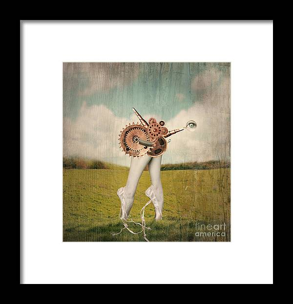 Feet Framed Print featuring the photograph Fantasy Artistic Image That Represent by Valentina Photos