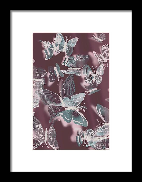 Butterfly Framed Print featuring the photograph Fantasy Flutters by Jorgo Photography - Wall Art Gallery