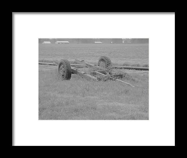 Framed Print featuring the photograph Farm Equipment by James Harris