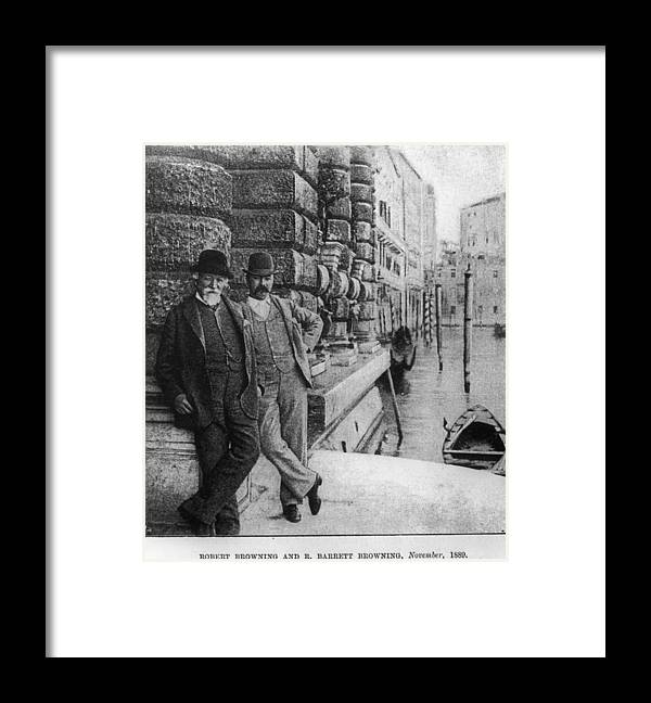 People Framed Print featuring the photograph Father And Son by Barclay