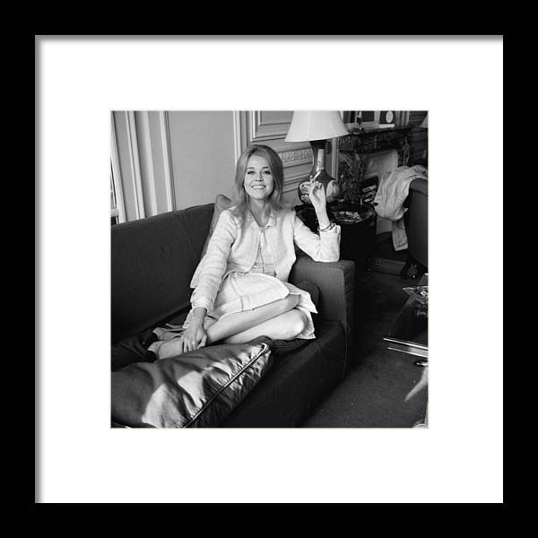 Smoking Framed Print featuring the photograph Feet Up by Kaye