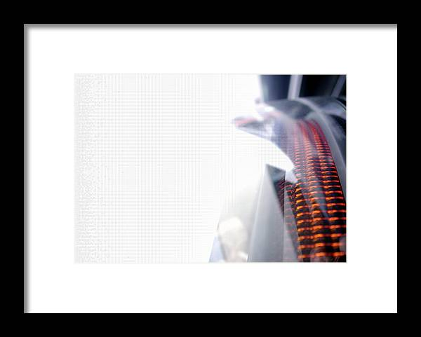Internet Framed Print featuring the photograph File Transfer 2 by Dansin
