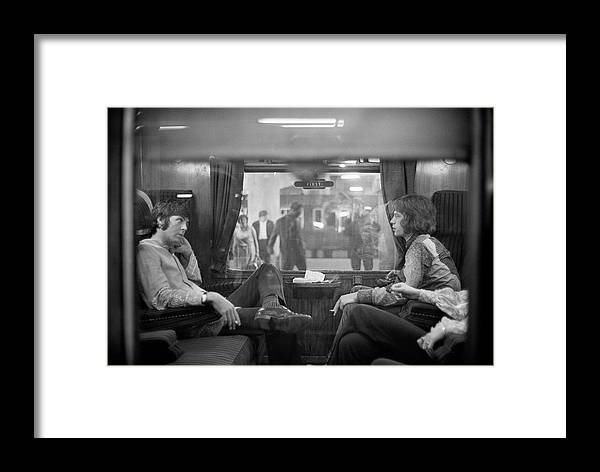 Singer Framed Print featuring the photograph First Class Travel by Victor Blackman