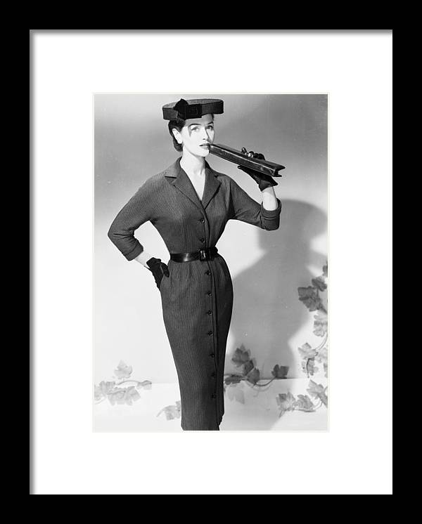 1950-1959 Framed Print featuring the photograph Flat Top by Chaloner Woods