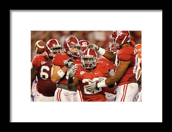 Florida Gators American Football Framed Print featuring the photograph Florida V Alabama by Kevin C. Cox
