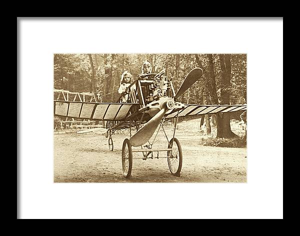 Vintage Aviation Framed Print featuring the photograph Fly Away With My Heart by Jayson Tuntland