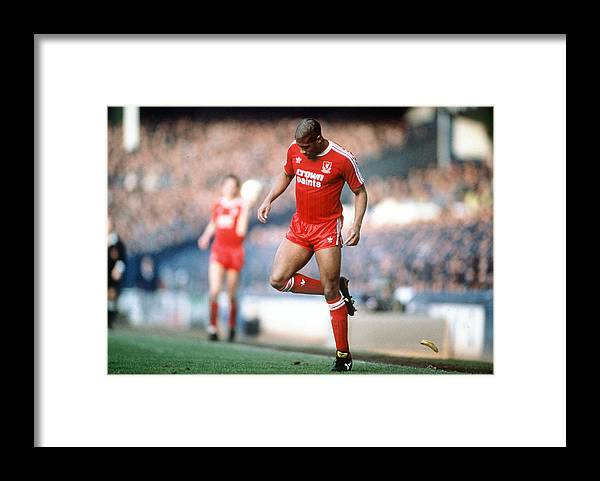 1980-1989 Framed Print featuring the photograph Football. 21st February 1988. Fa Cup by Bob Thomas