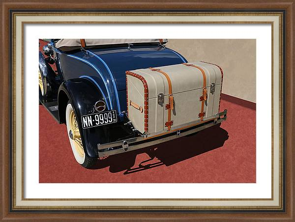 Studio Dalio - 1931 Ford Model A Roadster Framed Print