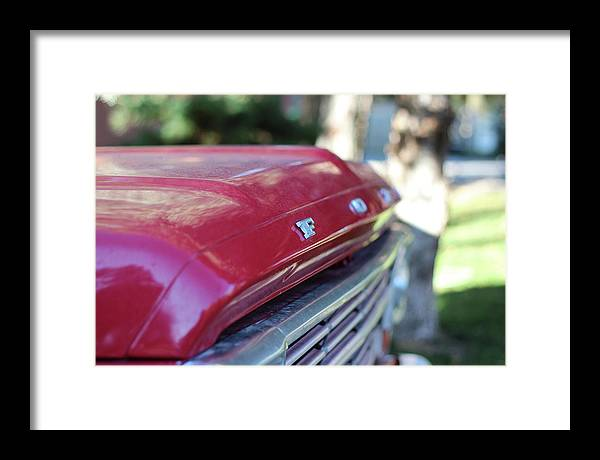Ford Framed Print featuring the photograph Ford Pickup by Fred DeSousa