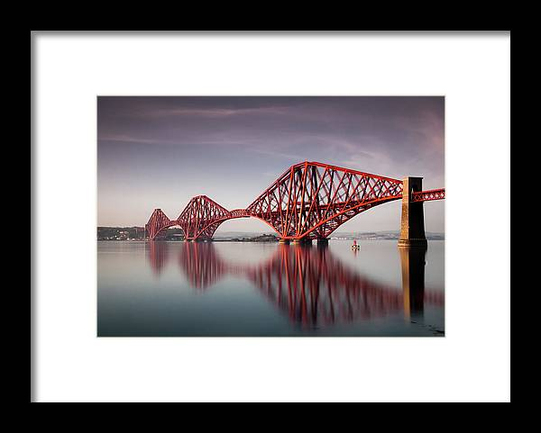 Built Structure Framed Print featuring the photograph Forth Rail Bridge by Jon Wild