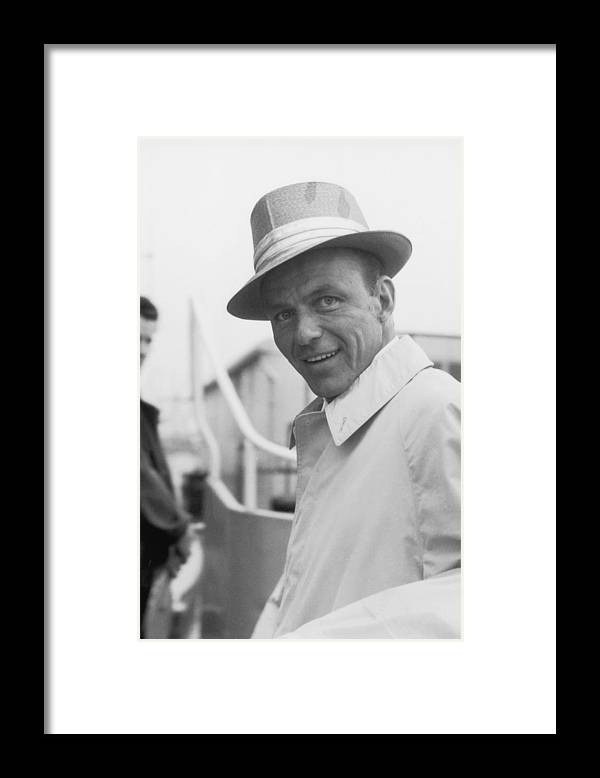 Singer Framed Print featuring the photograph Frank Sinatra by J. Wilds