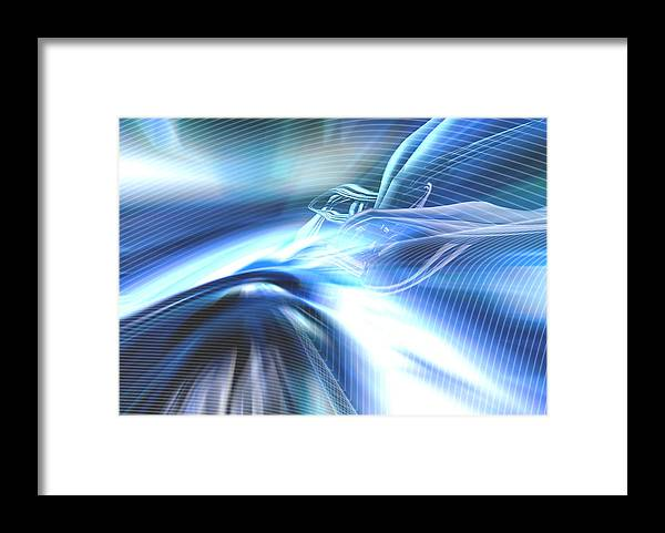 Computer Framed Print featuring the photograph Futura01 Remix by Alwyncooper
