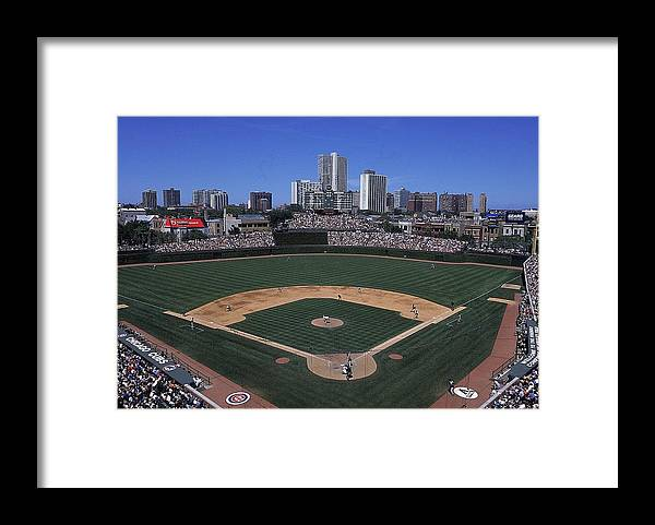 National League Baseball Framed Print featuring the photograph General View by Ezra Shaw