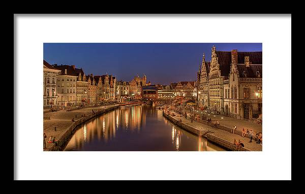 Tranquility Framed Print featuring the photograph Gent - 03101119 by Klaus Kehrls