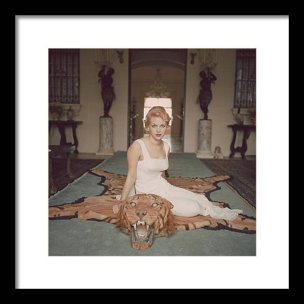 People Framed Print featuring the photograph George Cameron by Slim Aarons