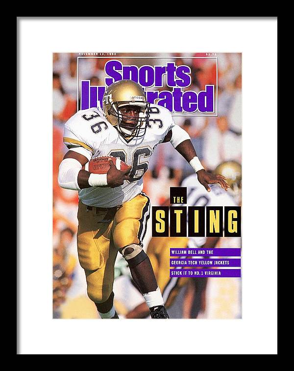 Magazine Cover Framed Print featuring the photograph Georgia Tech William Bell... Sports Illustrated Cover by Sports Illustrated