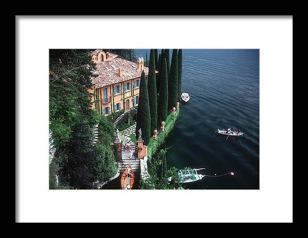 1980-1989 Framed Print featuring the photograph Giacomo Montegazza by Slim Aarons