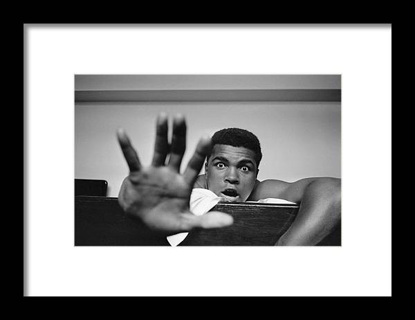 One Man Only Framed Print featuring the photograph Give Me Five by Len Trievnor