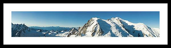 Scenics Framed Print featuring the photograph Glorious Mountain Vista Xxxl by Fotovoyager
