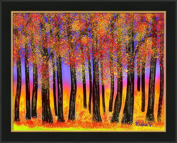 Glowing Woods by Nishma Creations