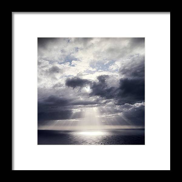 Scenics Framed Print featuring the photograph Gods Above Us by Ioseph