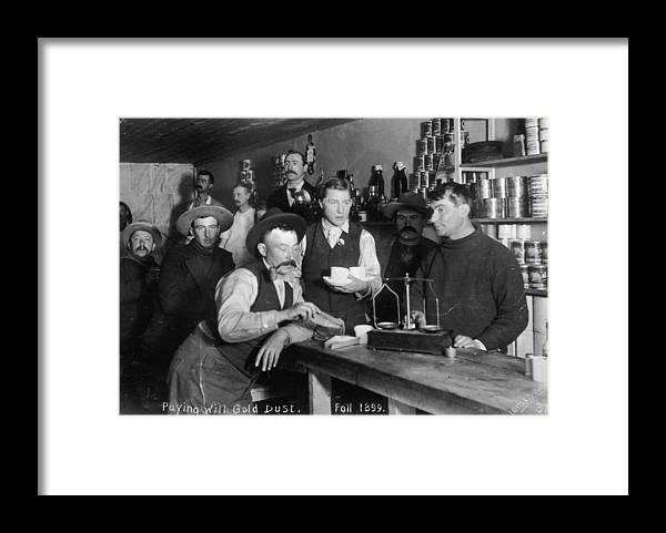 Dust Framed Print featuring the photograph Gold Currency by Hulton Archive