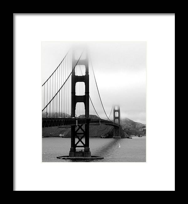 San Francisco Framed Print featuring the photograph Golden Gate Bridge by Federica Gentile