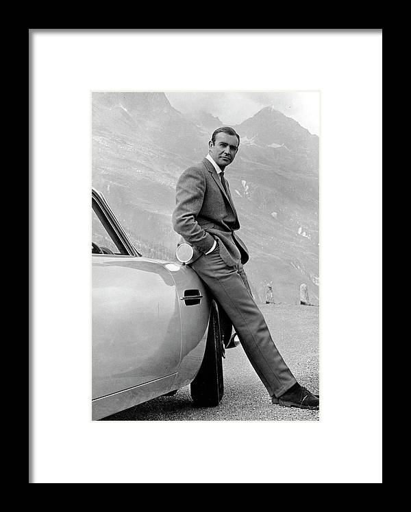 Sean Connery Framed Print featuring the photograph Goldfinger by Michael Ochs Archives