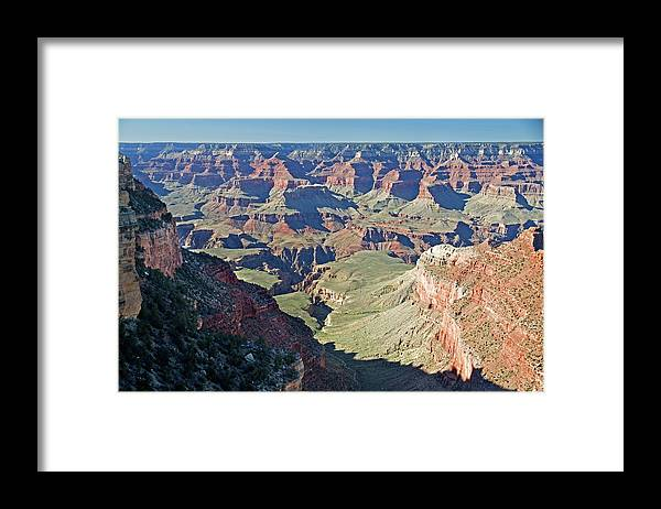 Scenics Framed Print featuring the photograph Grand Canyon Beauty by Mitch Diamond