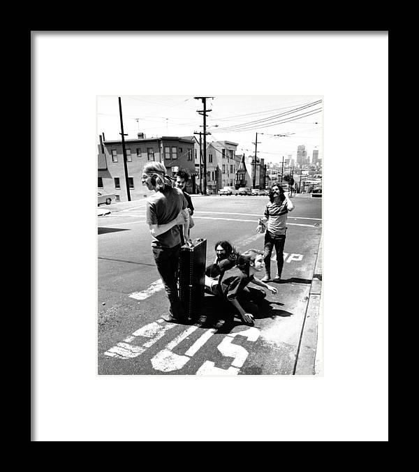 San Francisco Framed Print featuring the photograph Grateful Dead Portrait by Michael Ochs Archives
