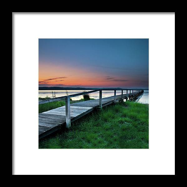 Tranquility Framed Print featuring the photograph Greener On The Other Side by Photography By Carlo Olegario