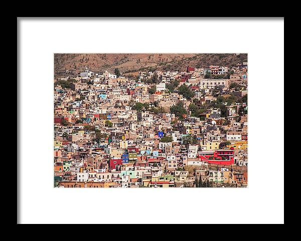 Scenics Framed Print featuring the photograph Guanajuato by Maryann Flick