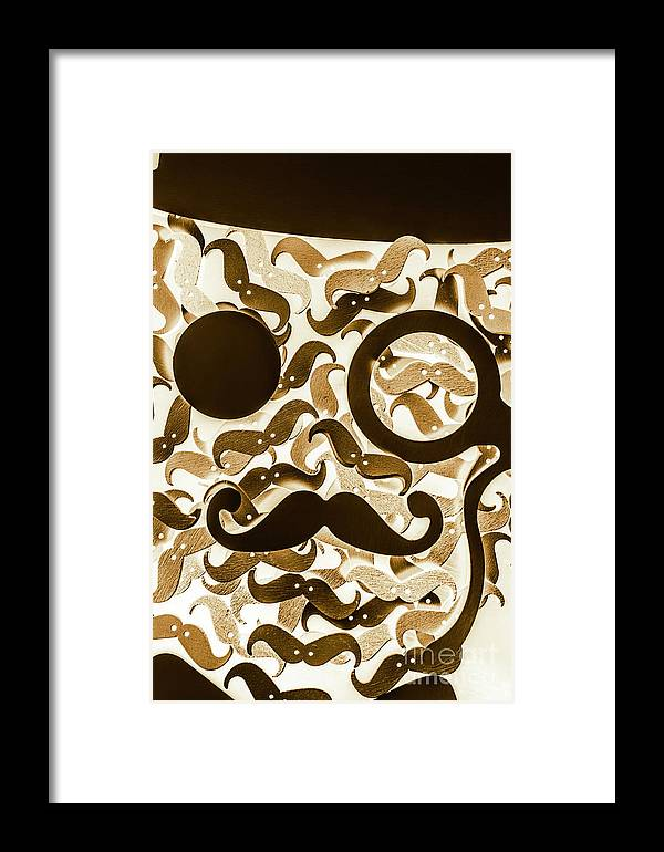 Barber Framed Print featuring the photograph Hairy Hipster by Jorgo Photography - Wall Art Gallery