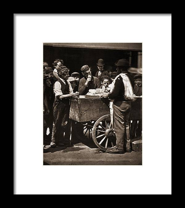Child Framed Print featuring the photograph Halfpenny Ices by John Thomson