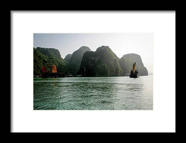 Scenics Framed Print featuring the photograph Halong Bay by Rafax