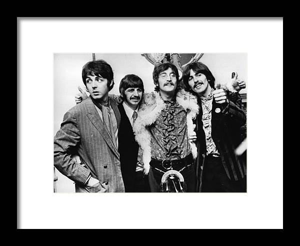 Clothing Framed Print featuring the photograph Happy Hearts Club by John Pratt