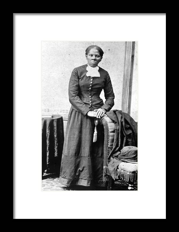 Harriet Tubman Framed Print featuring the photograph Harriet Tubman by Mpi
