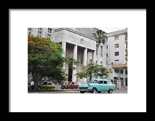 Havana Framed Print featuring the photograph Havana by Cassidy Marshall