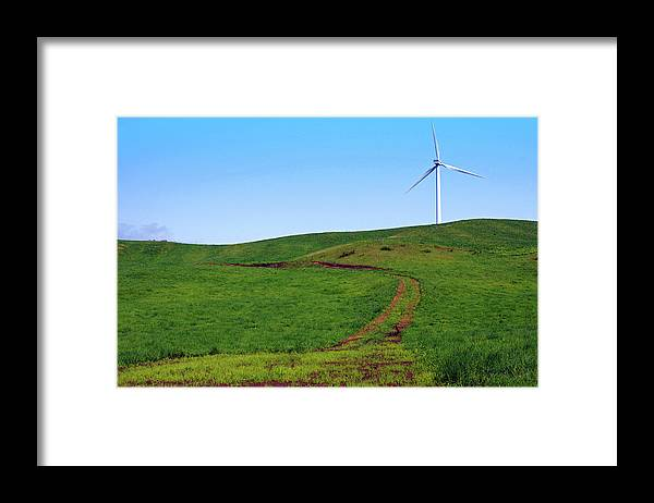 Environmental Conservation Framed Print featuring the photograph Hill by The Landscape Of Regional Cities In Japan.
