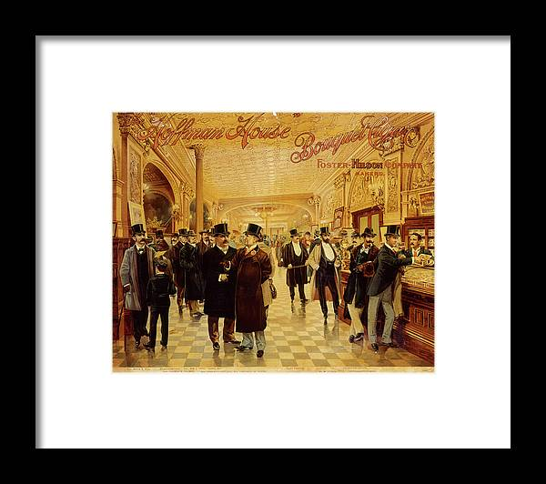 Lifestyles Framed Print featuring the photograph Hoffman House Bouquet Cigars by The New York Historical Society